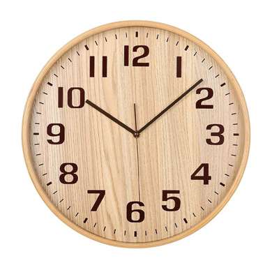 Classic Handmade Silent Wall Clock - KAMEISHI 12 Inches