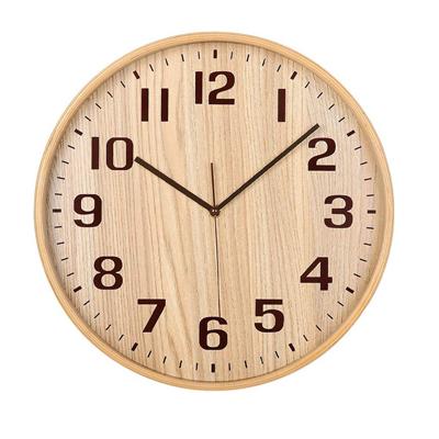 Classic Handmade Silent Wall Clock, KAMEISHI