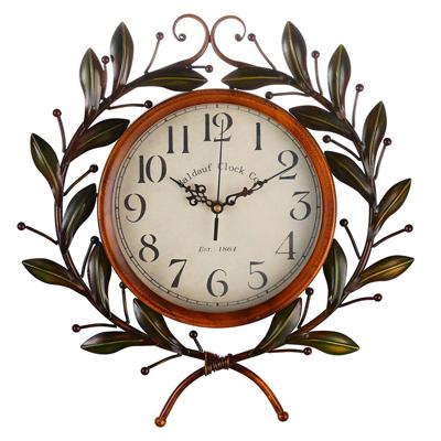 Olive Branch Vintage Clock