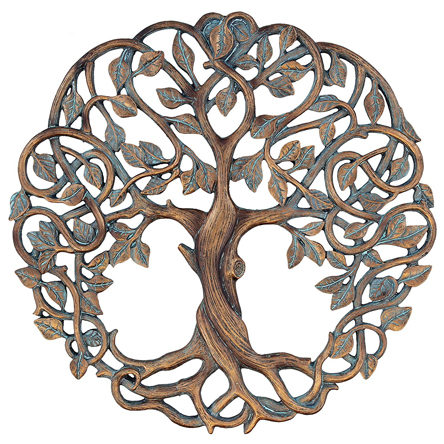 Old RIver Outdoors Tree of Life Plaque