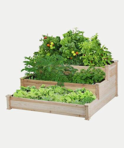 Yaheetech tiered raised garden