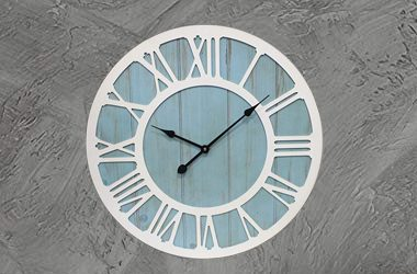 IPOUF Large Wall Clock