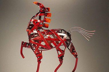 sculpture-horse